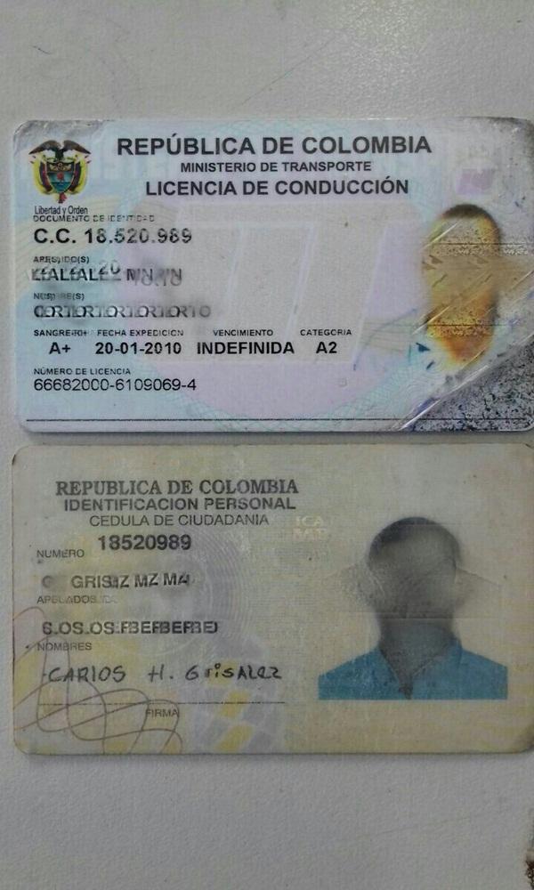 Colombiano flagrado em situação irregular (Crédito: Divulgação/PRF)