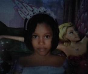 A  vítima identificada  apenas como Andressa Rodrigues, de 10 anos (Crédito: Arquivo pessoal)