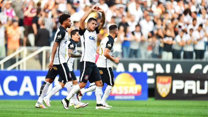 Timão vence Red Bull Brasil em jogo realizada na Arena Corinthians