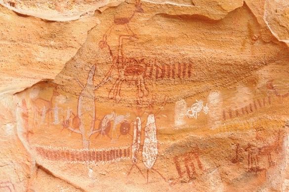 Pintura rupestre - Serra da Capivara