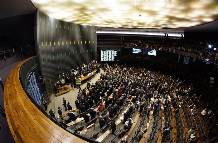 Câmara dos Deputados (Crédito: Zeca Ribeiro / Câmara dos Deputados)