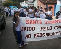Escola Santa Genoveva promove evento contra o Aedes Aegypti