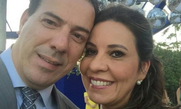 Deputada e marido (Crédito: Reprodução)