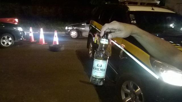 Bebida alcoolica foi encontrada no local (Crédito: Reprodução)