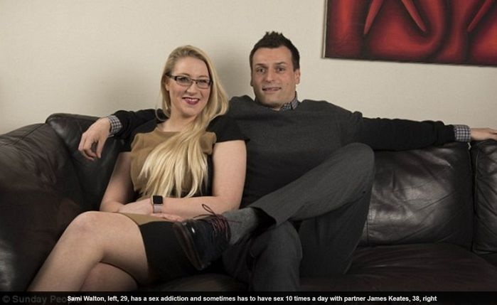Sami conta com ajuda de seu parceiro James Keates