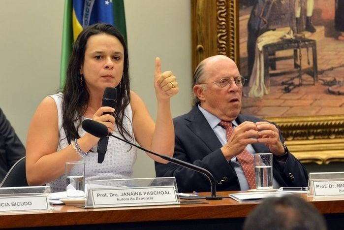 Janaína Paschoal (Crédito: Reprodução)