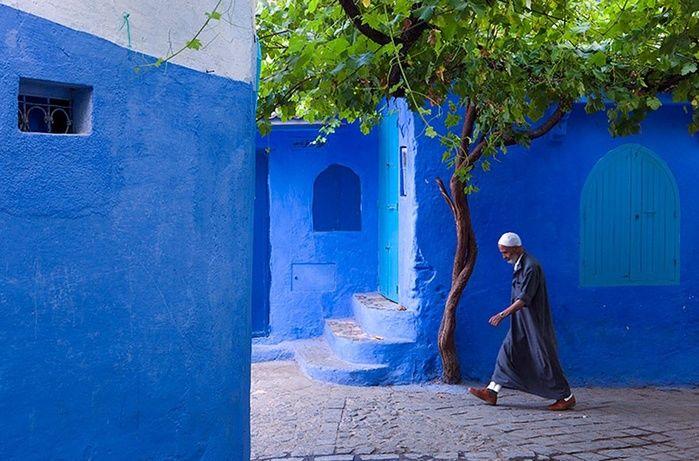 Cidade azul (Crédito: Claude Renault)