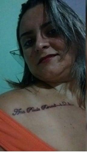 Fã tatuou nome de Ana Paula (Crédito: Twitter )
