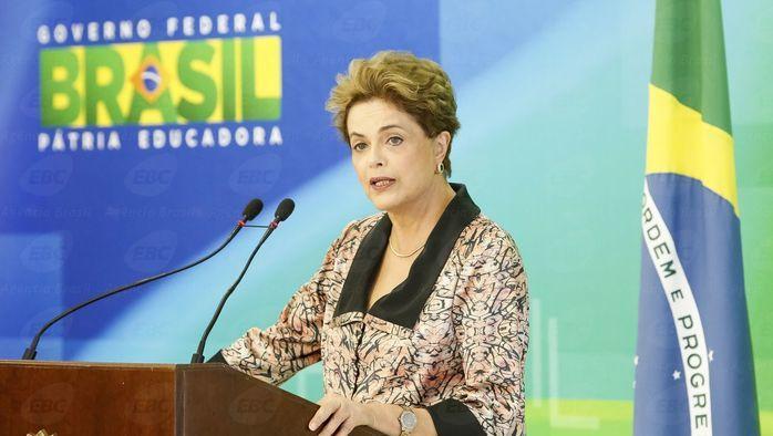 Dilma concedeu entrevista para imprensa estrangeira (Crédito: Agência Brasil )