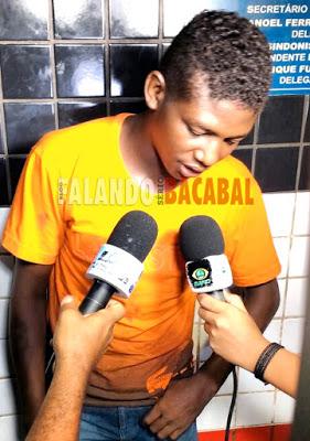 "Nielson Matos, de 20 anos,  conhecido como  ""Nikito"""