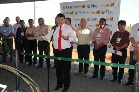 Governador Wellington Dias em Guadalupe (Crédito: Reprodução)