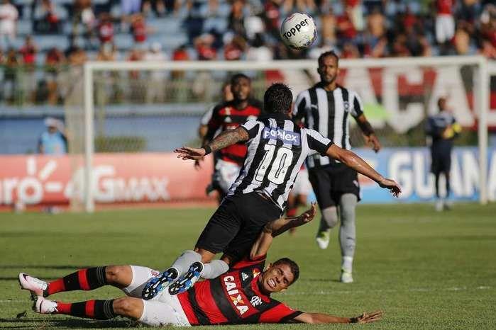 Flamengo e Botafogo (Crédito: Reprodução)