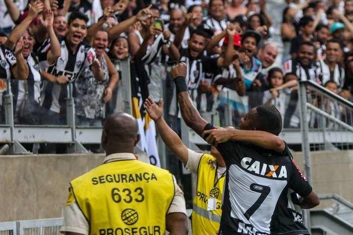 Goleada do Atlético Mineiro (Crédito: Reprodução)