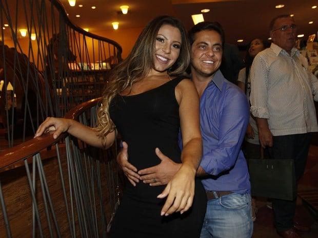 Thammy Miranda e Andressa Ferreira
