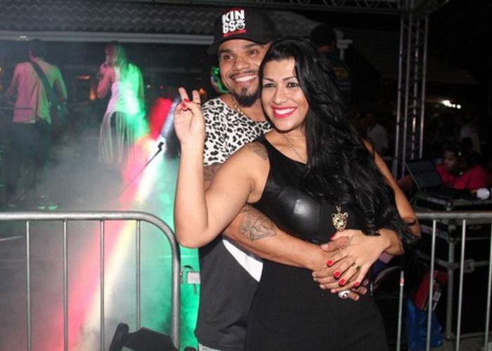 Naldo e Mulher Moranguinho (Crédito: Ego)