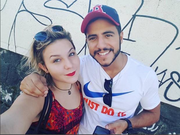 Matheus e Maria Claudia