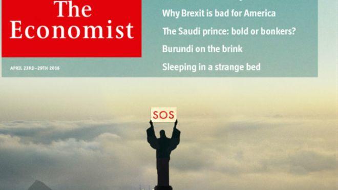 """""""A grande traição"""" foi o título escolhido pela britânica The Economist"""