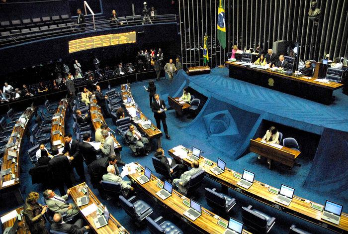 Senado brasileiro (Crédito: Reprodução)