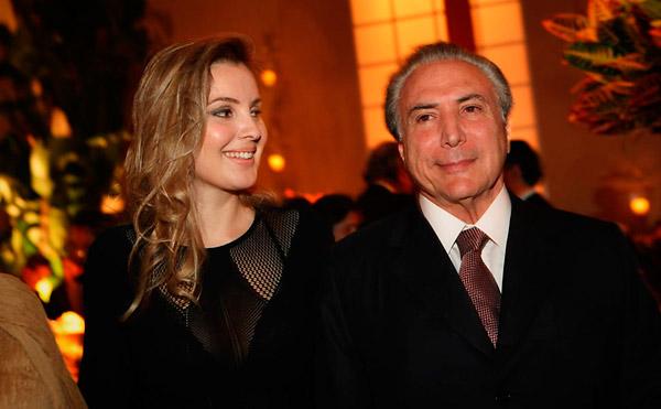 Michel e Marcela Temer (Crédito: Buzzfeed)