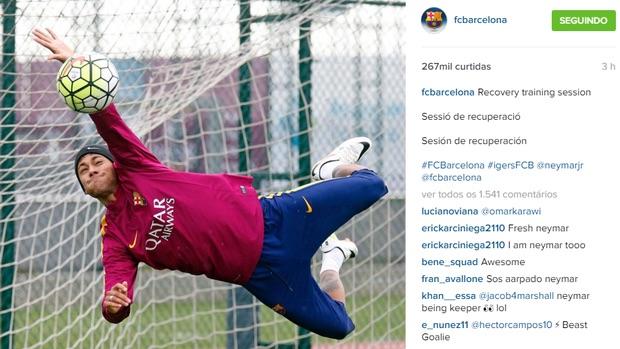 Reprodução (Crédito: Neymar)