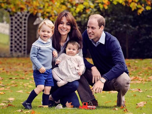 Família Real Britânica (Crédito: Reprodução)