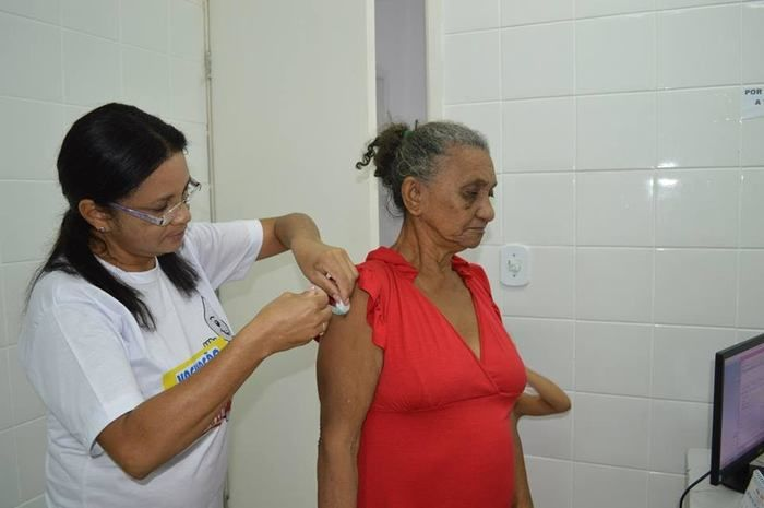 Vacinação (Crédito: Prefeitura de Teresina)