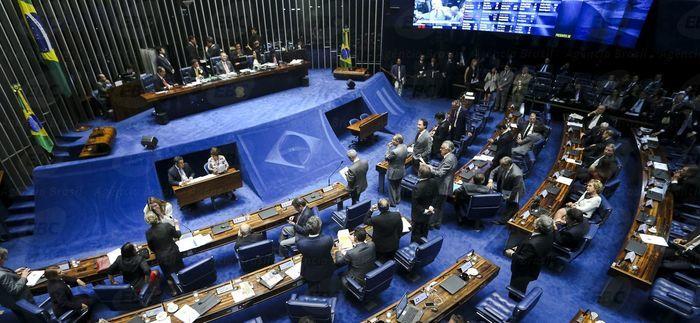 Senado elege comissão que irá analisar impeachment de Dilma (Crédito: Agência Brasil )