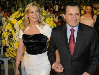 Roseli Barbosa e ex-governador Silval Barbosa, pais de Rodrigo Barbosa