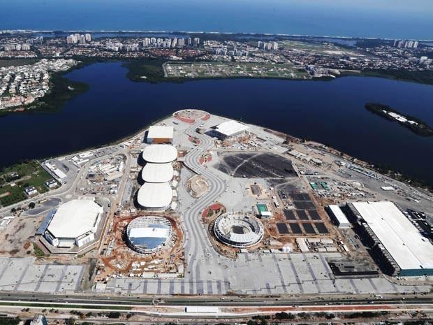 Obras no entorno do Parque Olímpico tiveram duas mortes, segundo relatório divulgado nesta segunda (25) (Crédito: Prefeitura do Rio)