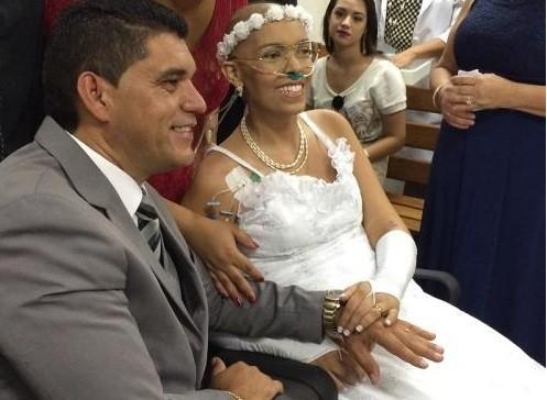 Fotógrafa casou na última sexta-feira (Crédito: Reprodução)