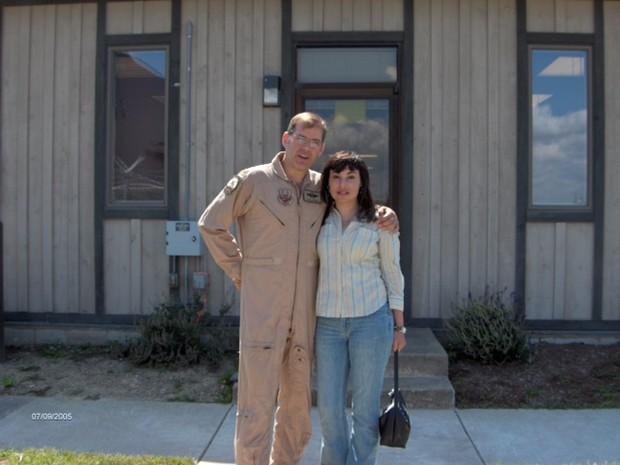 Cláudia Hoerig é acusada de matar marido nos EUA (Crédito: Arquivo Pessoal )