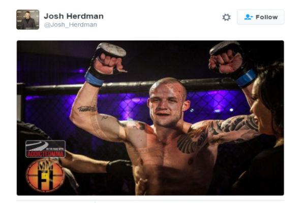 Josh Herdman, que interpretou o bruxo Goyle, agora é lutador de MMA (Crédito: Reprodução)