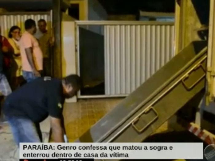 Genro mata sogra (Crédito: Divulgação)