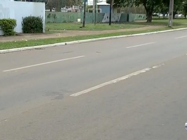 Local onde aconteceu o acidente (Crédito: Divulgação )