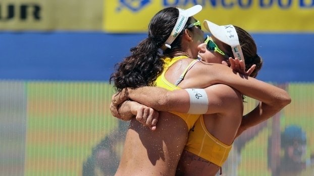 Larissa e Talita vão ganhar o ouro, segundo InfoStrada a 100 dias da Rio 2016 (Crédito: CBV)