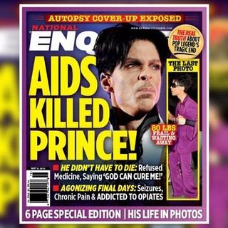 Prince teria Aids, diz tabloide inglês (Crédito: Divulgação)