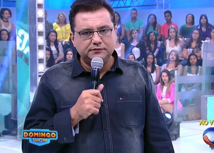 Geraldo Luís não vai deixar saudades (Crédito: Reprodução/ Record)