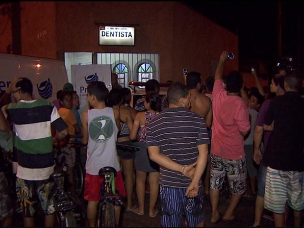 Local onde o dentista foi assassinado em Ribeirão preto