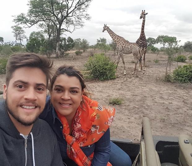 Rodrigo Godoy e Preta Gil (Crédito: Reprodução)