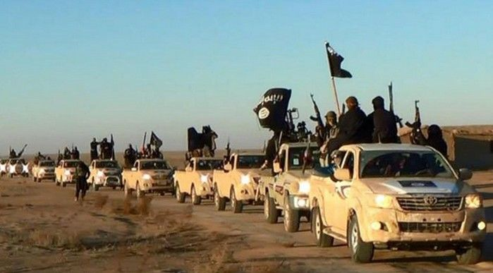 Terroristas do Estado Islâmico (Crédito: Reprodução)