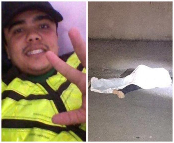 """Willian Silva, mais conhecido como """"Panda Moto taxi"""" (Crédito: Reprodução/Facebook)"""