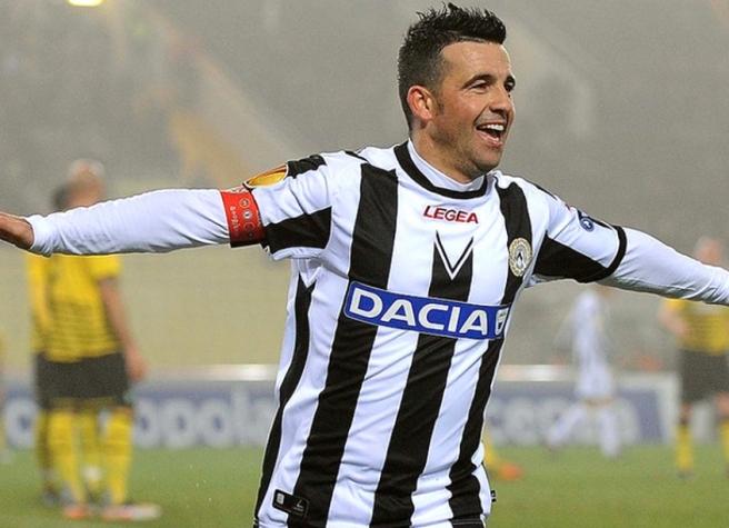 Di Natale chegou à Udinese na temporada 2004/05 (Crédito: AFP)