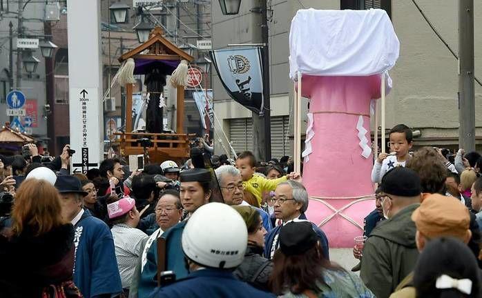Festival Kanamara Matsuri (Crédito: Toru Yamanaka)