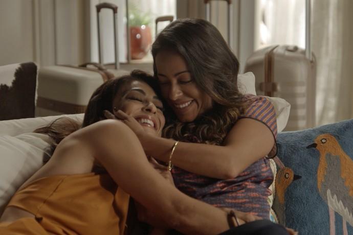 Carolina vai morar com sua irmã no Bairro de Fátima