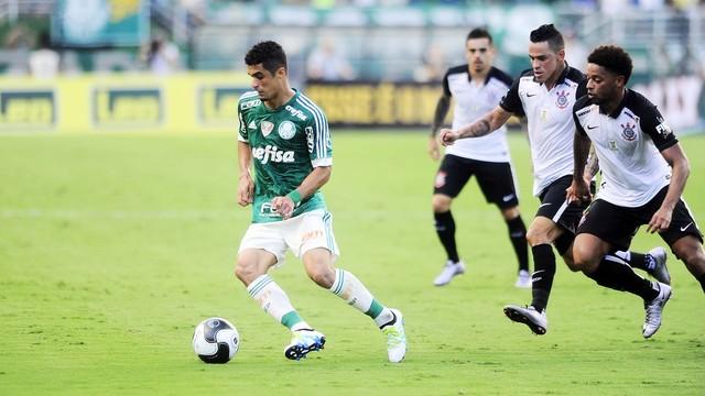 Palmeiras mostrou bom desempenho em campo