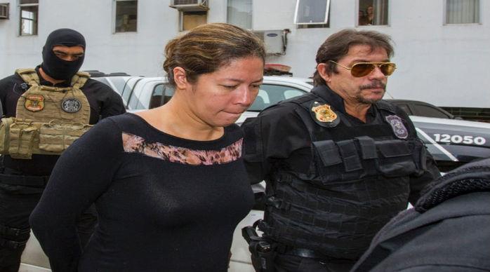 Renata Pereira, então funcionária da Mossack