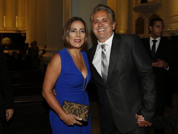 Glória Pires e Orlando Moraes (Crédito:  Roberto Teixeira / ego))