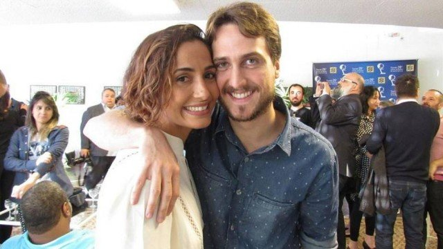 Camila Pitange e Igor Angelkorte (Crédito: Reprodução)