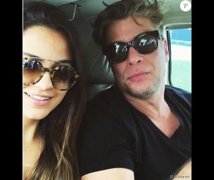 Fabio Assunção e Pally Siqueira