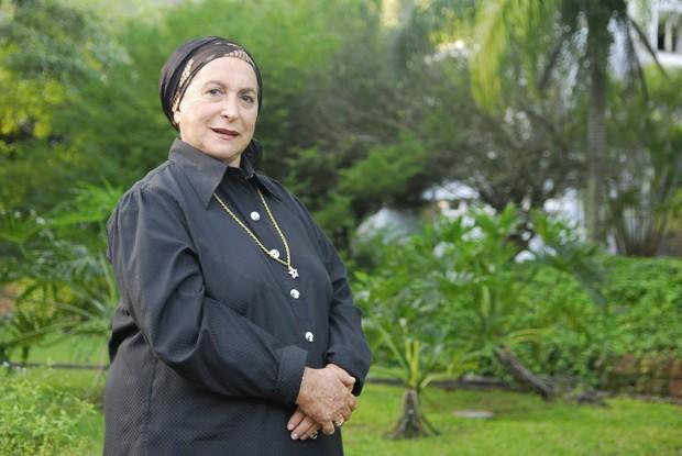 Tereza Rachel em 2009 na novela Caras & Bocas  (Crédito: TV Globo / João Miguel Júnior)